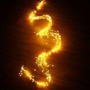 Lumiére décorative-1,5mdeFildeCuivredelaSuccursaledelaChaînedeLumières,BlancChaud,350LEDFéeTimbodesLumièresavecle