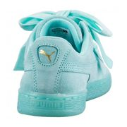 Chaussures Puma Suede Heart Reset Classic Bleu Aruba Do You