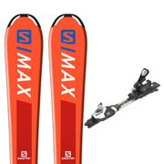 SALOMON E S/max Jr S Ski+C5 J75 Fixations Fixations Garçon