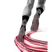 Falke - 4Grip chaussettes de tennis pour hommes (rouge/gris)