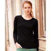 Fruit Of The Loom - T-shirt à manches longues - Femme
