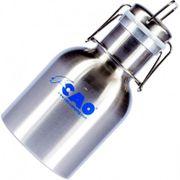Gourde inox CAO 1 litre avec bouchon canette