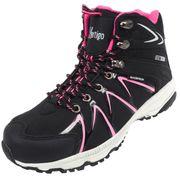 Chaussures marche randonnées Nubb noir/rose lady