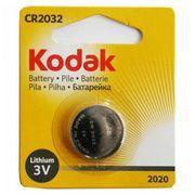 Pile Bouton au Lithium Kodak CR2032 3 V Argent