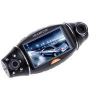 Dashcam camera dvr auto2.7 pouce R310 270 Degrés TFT LCD Double 2 Objectif Dash HD DVR Voiture Kit Caméra Vidéo Enregistreur