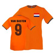 Marco Van Basten Holland Ringer Tee (orange)