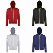 Awdis - Sweatshirt léger à capuche et fermeture zippée - Homme