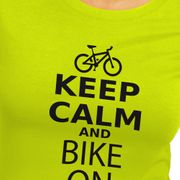 Kruskis Keep Calm And Bike On