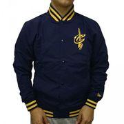 Bomber NBA Clevaland Cavaliers New Era Varsity pop Logo Bleu foncé pour Homme taille - L