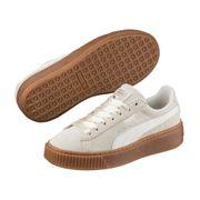 Chaussures cuir suede platform BUBBLE