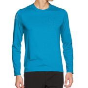 Pulse Homme Tee-Shirt Running Bleu Salomon