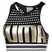 Puma  Bra M Puma Black-Metallicgold L