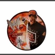 Pendule murale en bois WWE John Cena  36 cm - unique noir
