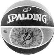 Spalding Ballon Nba Team San Antonio Spurs T7 Noir Ballons Basketball
