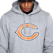 Sweat à capuche New Era avec logo de l'équipe Chicago Bears