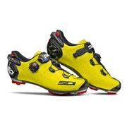 Chaussures Sidi VTT Drako 2 Carbon jaune fluo noir