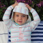 En vacances avec Sophie Mayo Parasol Casquette anti-UV bébé fille garçon