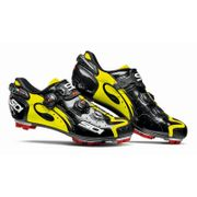 Chaussures Sidi MTB Drako Carbon noir jaune fluo