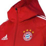 2017-2018 Bayern Munich Adidas Rain Veste (rouge)