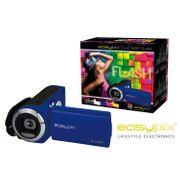 Caméscope portatif 5MP Bleu - Format HD - Flash Royalblue