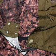 Veste hiver Snowboard Ski jacket ORAGE Norton wazabi hot brown
