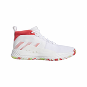 Chaussure de Basketball adidas Dame 5 All Skate Blanc pour homme Pointure - 45 1/3