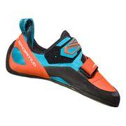 Chaussons d'escalade La Sportiva Katana orange bleu