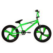 BMX Freestyle 20'' Cobalt vert fluo KS Cycling