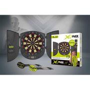 XQmax Darts Cible de fléchettes électronique avec coffret QD5000010