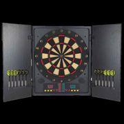 XQmax Darts Cible de fléchettes électronique avec coffret QD5000020