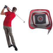 Pure2Improve Filet d'entraînement de golf 213 x 122 x 213 cm P2I500020