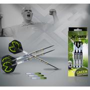 XQmax Darts Fléchettes MvG Green Demolisher 23g 70% Tungstène QD2200020