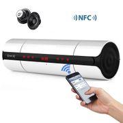 Enceinte Bluetooth V3.0 avec Lumière LED touche tactile NFC FM Radio