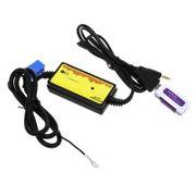 Chargeur allume cigare-Interface audio de voiture MP3 USB Câble de données 8P Connect Changeur de CD pour VW / Skoda
