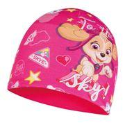 Bonnet Buff Microfiber Polar Paw Patrol Sky Pink rose pour enfant