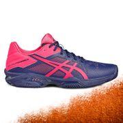 Chaussure Asics Gel Solution Speed 3 Clay Indigo Rose Femme (38)
