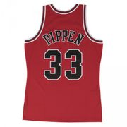 Maillot NBA swingman Scottie Pippen Chicago Bulls Hardwood Classics Mitchell & ness Rouge taille - M