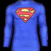 Compression Alter Ego Superman Manche Longue