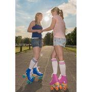 29a8001ea8173b Hudora Patins à Roulettes Disco - Rollers - Violet Orange - Taille 35