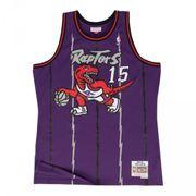 Maillot NBA swingman Vince Carter Toronto Raptors 1998-99 Hardwood Classics Mitchell & ness Violet taille - XL