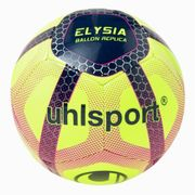 BALLON DE FOOTBALL  Ballon de Football Elysia Beach Soccer - Jaune, bleu et rouge - Taille 5