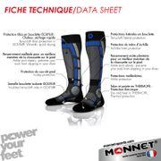 Chaussette de ski Monnet Backside