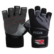 Rdx Sports Gym Glove Leather