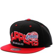 Clippers Homme Snapback Basketball Noir Mitchell & Ness