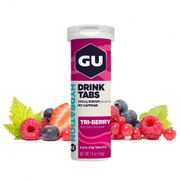 Tube de 12 Pastilles d'hydratation Gu Energy 3 fruits rouges (x8)