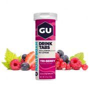 Tube de 12 Pastilles d'hydratation Gu Energy 3 fruits rouges (x8)