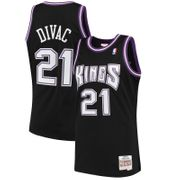 Maillot NBA swingman Vlade Divac Sacramento Kings 2000-01 Hardwood Classics Mitchell & ness noir Taille - S
