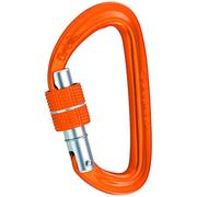 Mousqueton orbit lock, couleur orange camp
