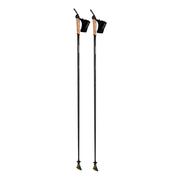 Bâtons Komperdell Carbon Featherlight noir marron (paire)
