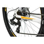VTT semi-rigide 29'' Compound blanc-orange TC 51 cm KS Cycling